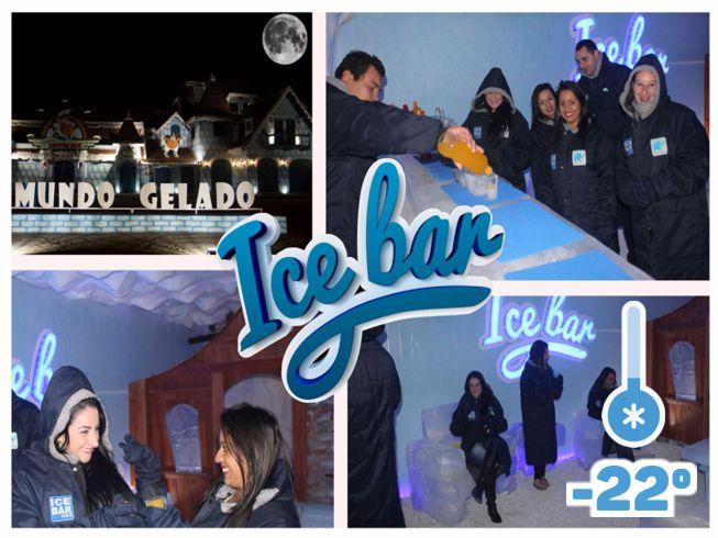 Imagem representando o passeio Ingresso Mundo Gelado + ICE BAR (noite)