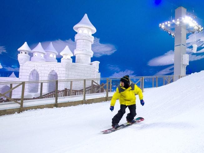 Imagem representando o passeio Snowland - Parque de Neve