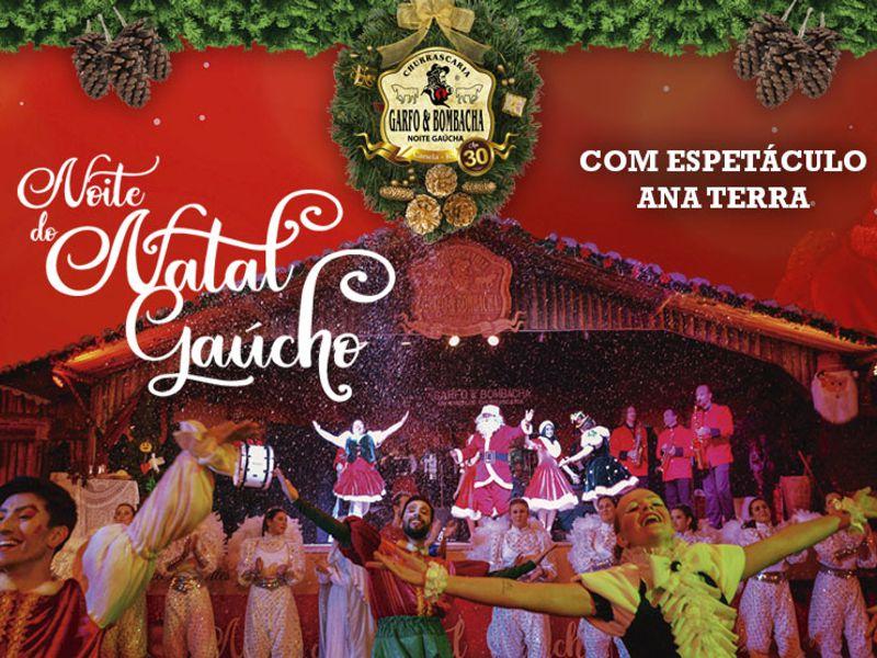 Imagem representando o passeio Noite do Natal Gaúcho com Espetáculo Ana Terra