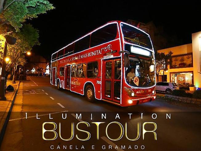 Imagem representando o passeio Illumination BusTour