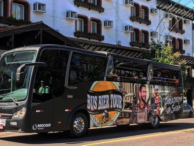 Imagem representando o passeio Bus Bier Tour - Cervejarias da Serra