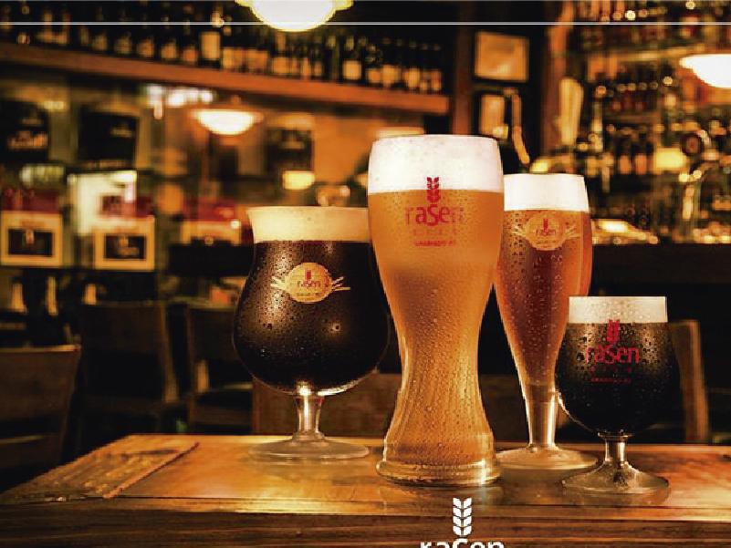 Imagem mostra as cervejas artesanais para degustação