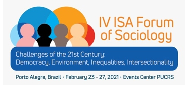 Imagem do evento IV ISA FORUM OF SOCIOLOGY 2021