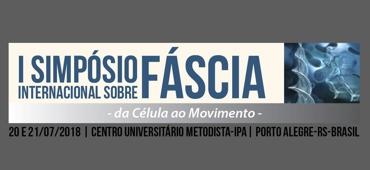 Imagem do evento SIMPÓSIO INTERNACIONAL DE FÁSCIA