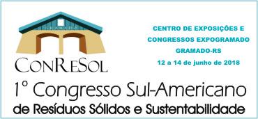 Imagem do evento 1º CONGRESSO SUL AMERICANO DE RESÍDUOS SÓLIDOS E SUSTENTABILIDADE