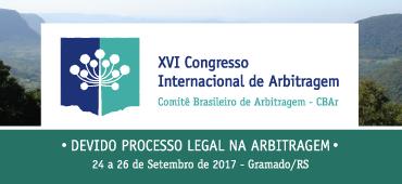 Imagem do evento XVI Congresso Internacional de Arbitragem - CBAr