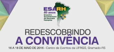 Imagem do evento ESARH 2016 - Encontro Sul Americano de Recursos Humanos