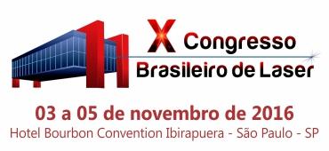 Imagem do evento X Congresso Brasileiro de Laser