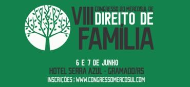 Imagem do evento VIII Congresso do Mercosul de Direito de Família (pré-evento)