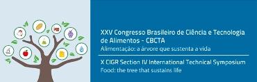 Imagem do evento XXV CBCTA – Congresso Brasileiro de Ciência e Tecnologia de Alimentos