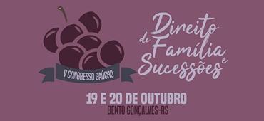 Imagem do evento V CONGRESSO GAÚCHO - DIREITO DE FAMÍLIA E SUCESSÕES