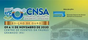 Imagem do evento 50º CNSA - CONGRESSO NACIONAL DE SANEAMENTO DA ASSEMAE