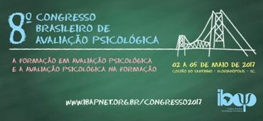 Imagem do evento VIII Congresso Brasileiro de Avaliação Psicológica